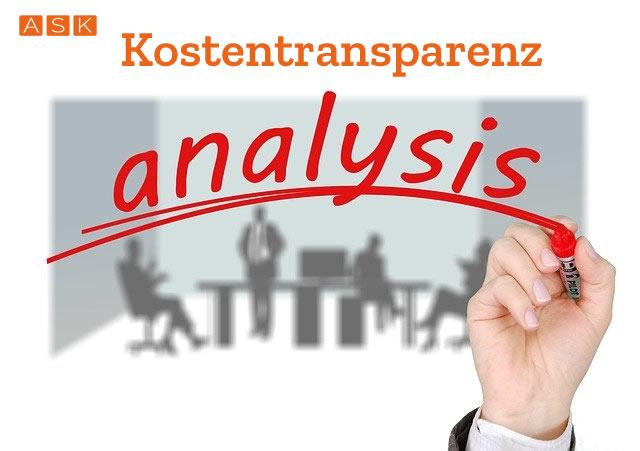 Kompetenz & Kostentransparenz